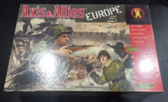 Axis & Allies Europe (Avalon Hill 1999 Edition) New & Sealed