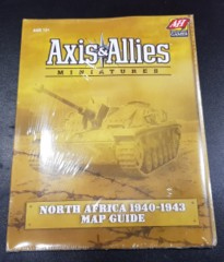 Axis & Allies North Africa 1940-1943 Map Guide New & Sealed