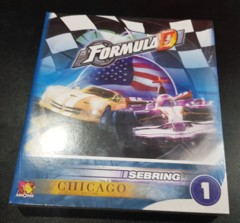 Formula D Sebring & Chicago Expansion New & Sealed