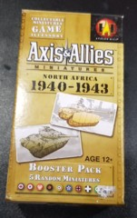 Axis & Allies North Africa 1940-1943 Booster Pack New & Sealed