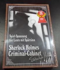Sherlock Holmes Criminal Cabinet (German) Brand New