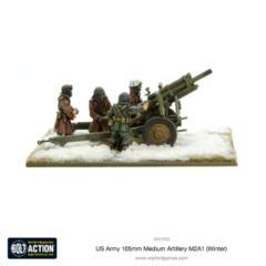 US Army 105mm Medium Artillery M2A1 (Winter)