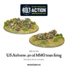 US Airborne 30cal team