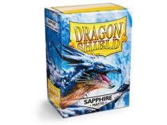 Dragon Shield Sleeves: Matte Sapphire (100)