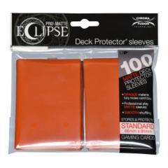 Pro Matte Eclipse Pumpkin Orange Sleeves (100)