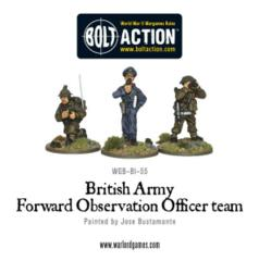 British Army Forward Observer Team