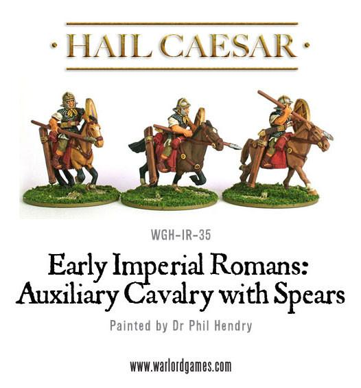 Imperial Roman Auxiliary Cavalry with Spears
