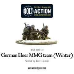 German Heer MMG team (Winter)
