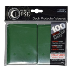 Pro Matte Eclipse Forrest Green Sleeves (100)