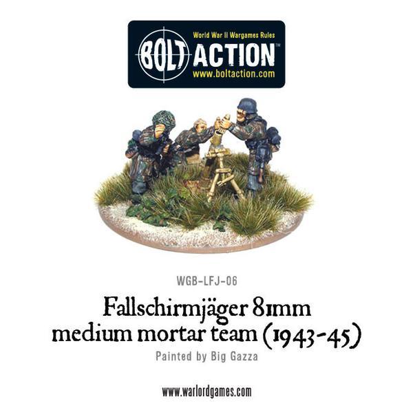 Fallschirmjager 81 Medium Mortar team