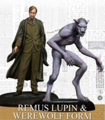 Harry Potter Miniature Game: Remus Lupin & Werewolf Form