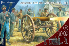 Perry Miniatures: American Civil War Artillery 1861-1865
