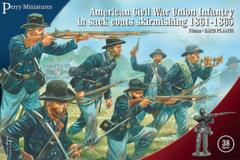 Perry Miniatures: American Civil War Union Infantry in Sack Coats Skirmishing