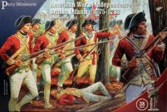 Perry Miniatures: American War of Independence: British Infantry