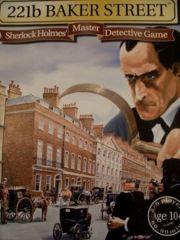 221B Baker Street (Sherlock Holmes Board Game) by Gibsons 1975