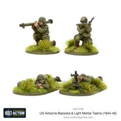 US Airborne Bazooka & Light Mortar teams (1944-45)