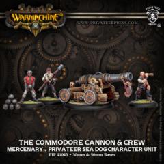Commodore Cannon & Crew