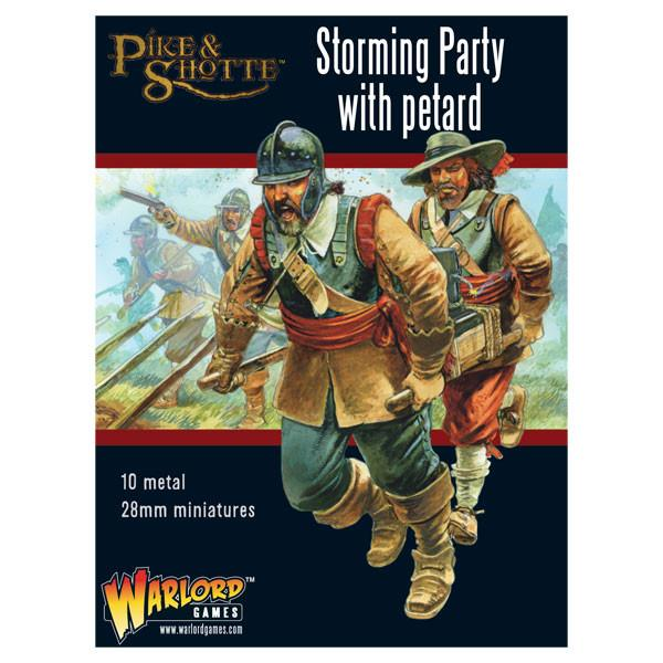 Storming party with petard