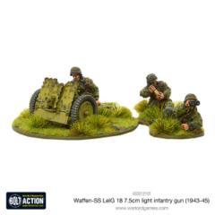 Waffen-SS LeIG 18 7.5cm light infantry gun