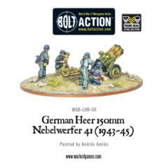 German Heer Nebelwerfer