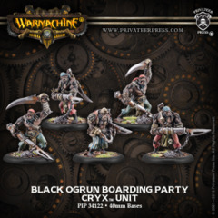 Black Ogrun Boarding Party