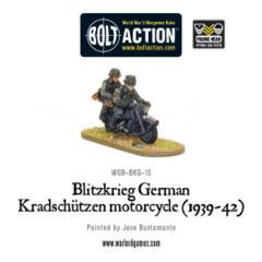 Blitzkreig German Kradschutzen Motorcycle