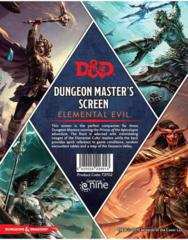 D&D Dungeon Master's Screen: Elemental Evil