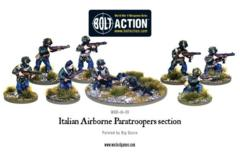Italian Airborne Paratroopers section