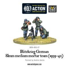 Blitzkrieg Medium Mortar Team (1939-42)