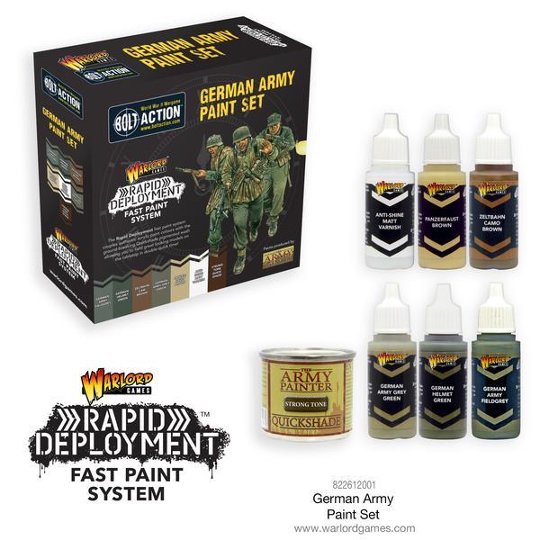 Rapid Deployment German Army Paint Set
