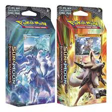 Pokemon Burning Shadows Theme Deck