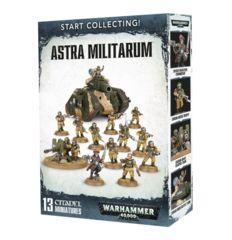 Warhammer 40K Start Collectin Astra Militarum