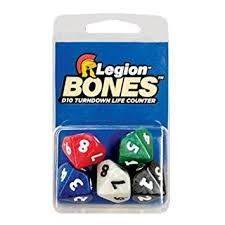 Legion Bones D10 Spin Down Life Counters
