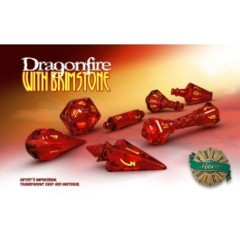 Dragonfire & Brimstone Wizard Dice Set
