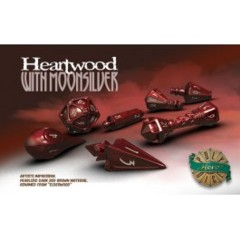 Heartwood &Moonsilver Wizard Dice Set