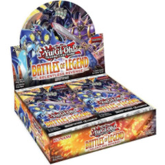 Yugioh Battle of Legend Relentless Revenge Booster Box