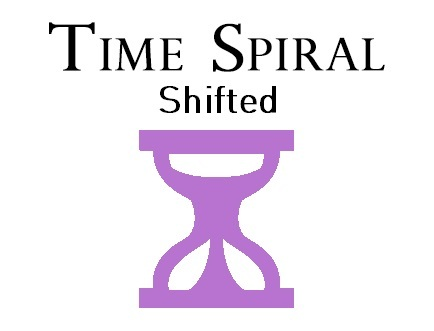 Time spiral shifted
