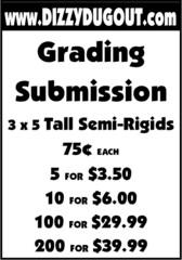 Dizzy Dugout Grading Submision Tall Semi-Rigids - 1