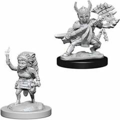 Nolzurs Marvelous Miniatures - Female Halfling Fighter