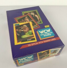 1991 WCW WORLD CHAMPIONSHIP WRESTLING TRADING CARD BOX