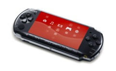 PSP-3001 System W/Memory Card & Charger