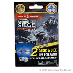 Dungeons & Dragons Dice Masters: Faerun Under Siege - Foil Pack