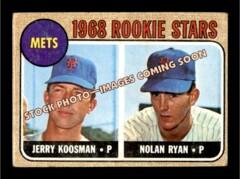 Nolan Ryan -1968 Topps #177 -  Rookie Card