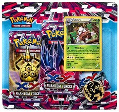 Pokemon XY Phantom Forces 3-Pack Blister Shiftry