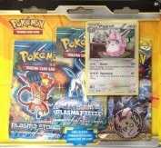 Pokemon 2015 BW 3 Pack and Promos Double Blister W/ Wigglytuff