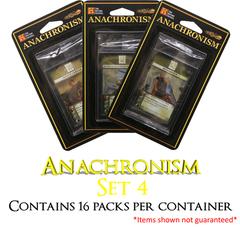 Anachronism Set 4 Booster Box - (16 packs)