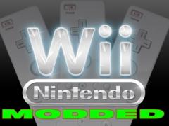 Wii - Modded System! includeds over 1000 games!