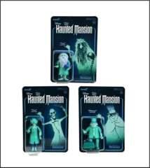 Disney ReAction Figures - Haunted Mansion Wave 1 - Set of 3