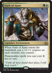 Oath of Ajani - Oversized Card (27