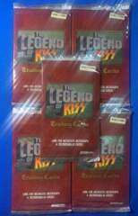 KISS Trading Cards: The Legend Of KISS Trading Cards - 5 Card Retail Pack